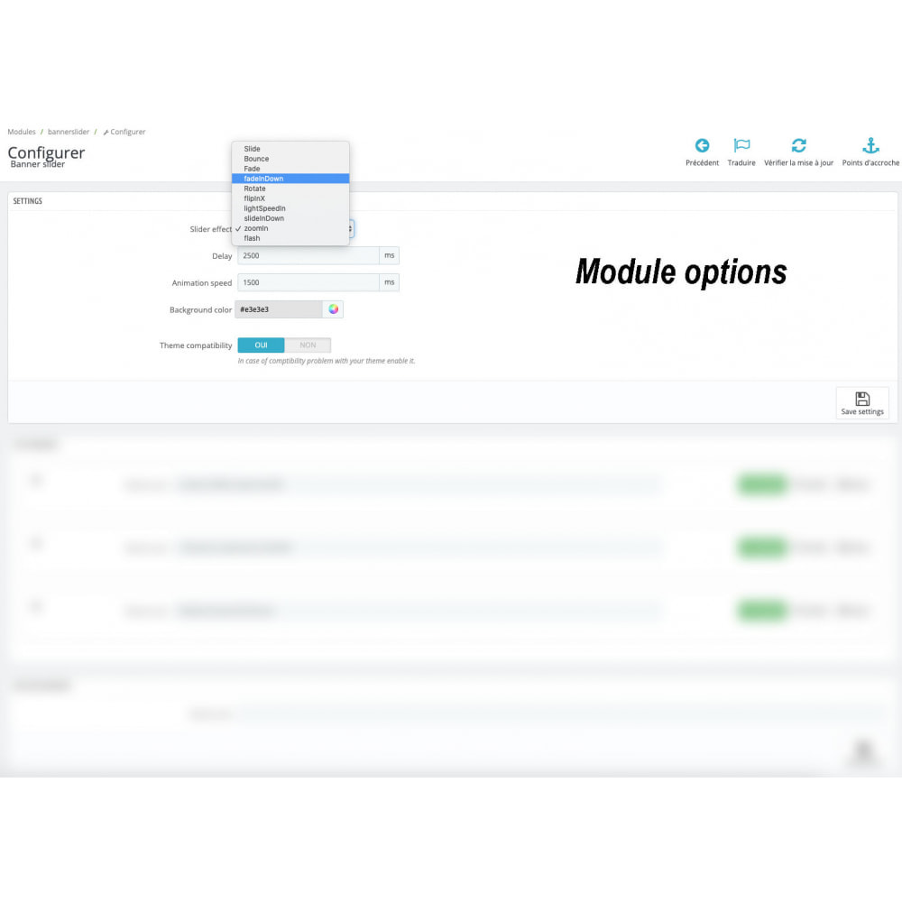 module - Sliders & Galleries - Top text slider with animation effect and responsive - 4