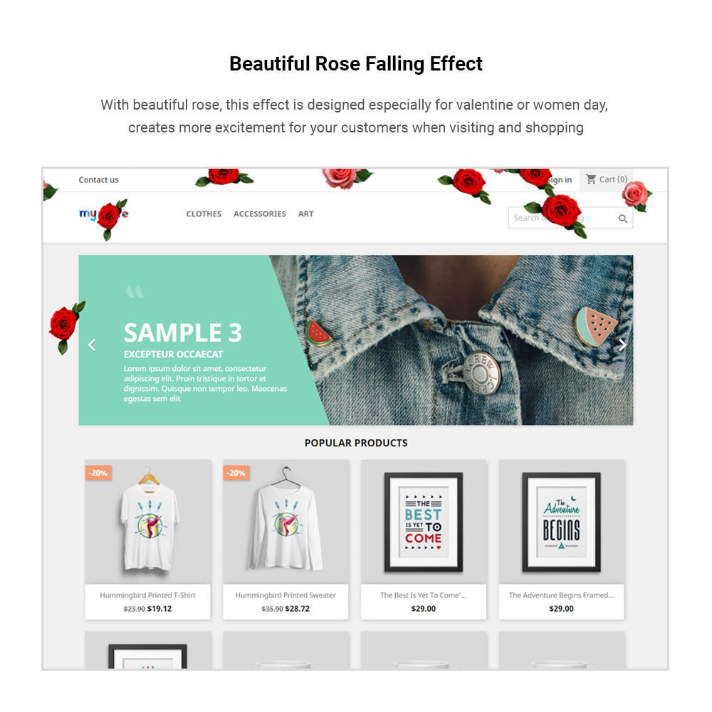 module - Personnalisation de Page - Rb Add Effect - Multipurpose for Events & Promotions - 6