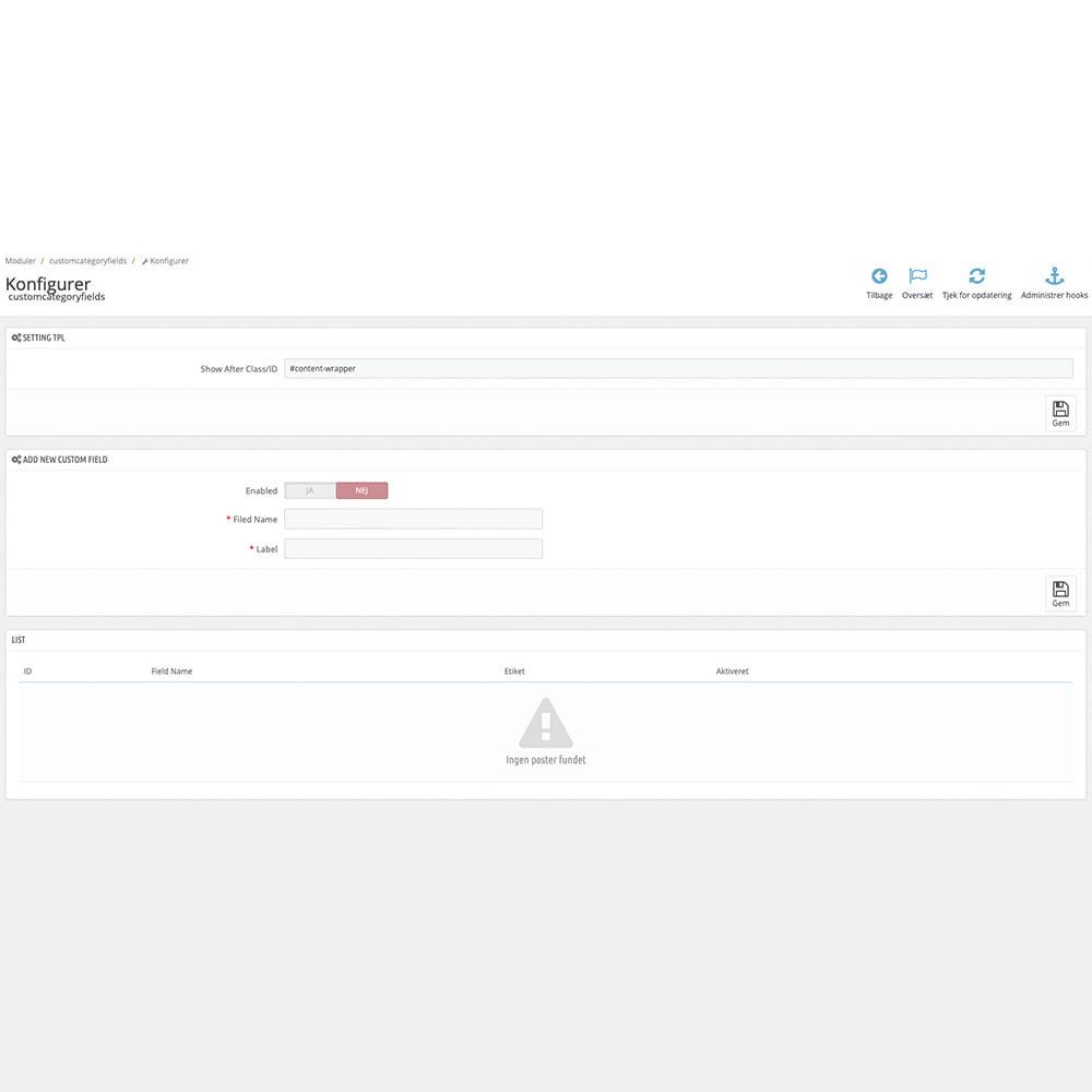 module - Zusatzinformationen & Produkt-Tabs - Extra Category Description - 2
