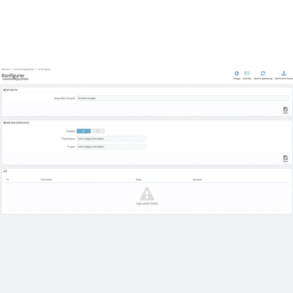 module - Zusatzinformationen & Produkt-Tabs - Extra Category Description - 3