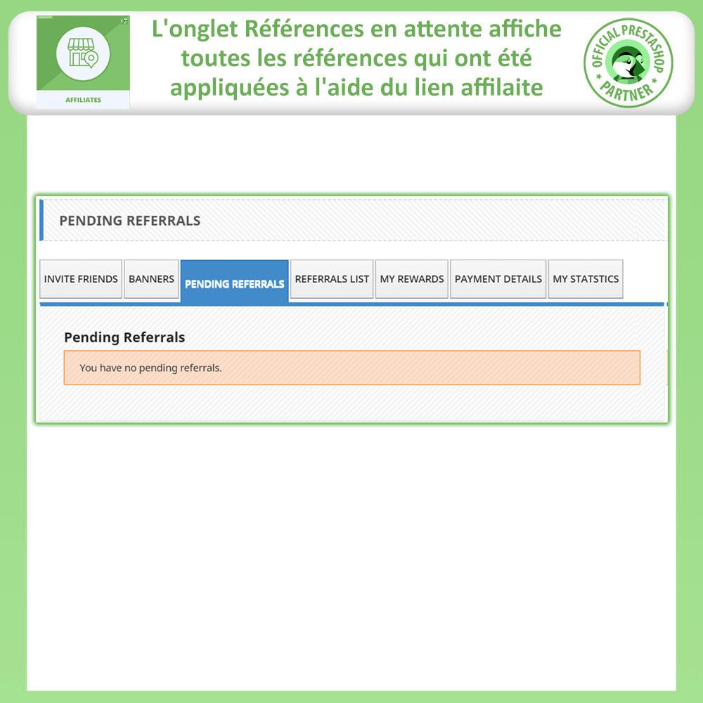 module - Référencement payant (SEA SEM) & Affiliation - Programme d'affiliation et de parrainage - 6