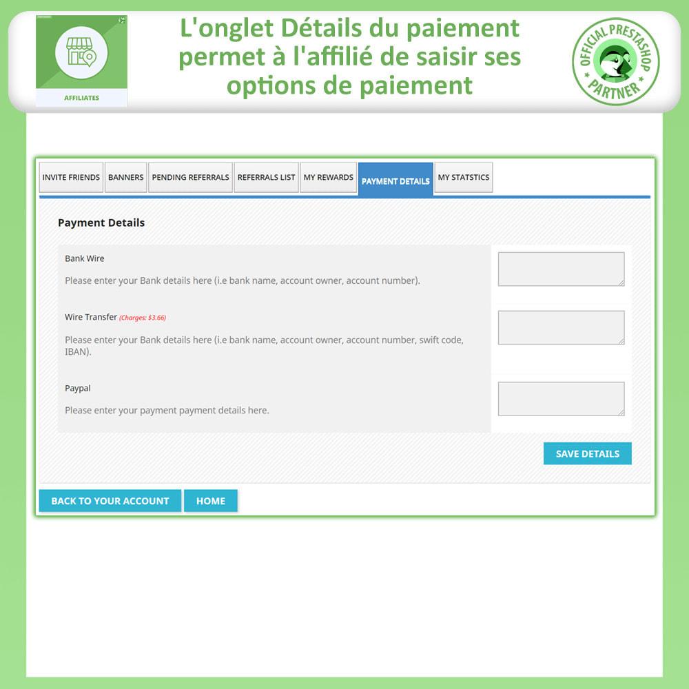module - Référencement payant (SEA SEM) & Affiliation - Programme d'affiliation et de parrainage - 8