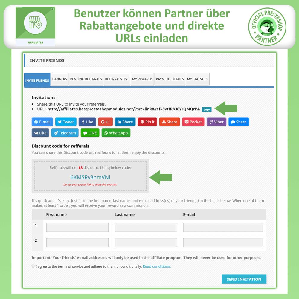 module - SEM SEA - Posicionamiento patrocinado & Afiliación - Programa de afiliados y referencias - 2