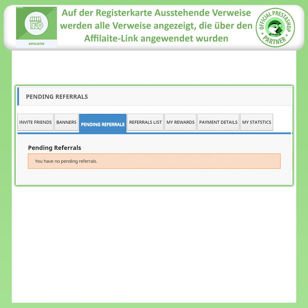 module - SEM SEA - Posicionamiento patrocinado & Afiliación - Programa de afiliados y referencias - 6