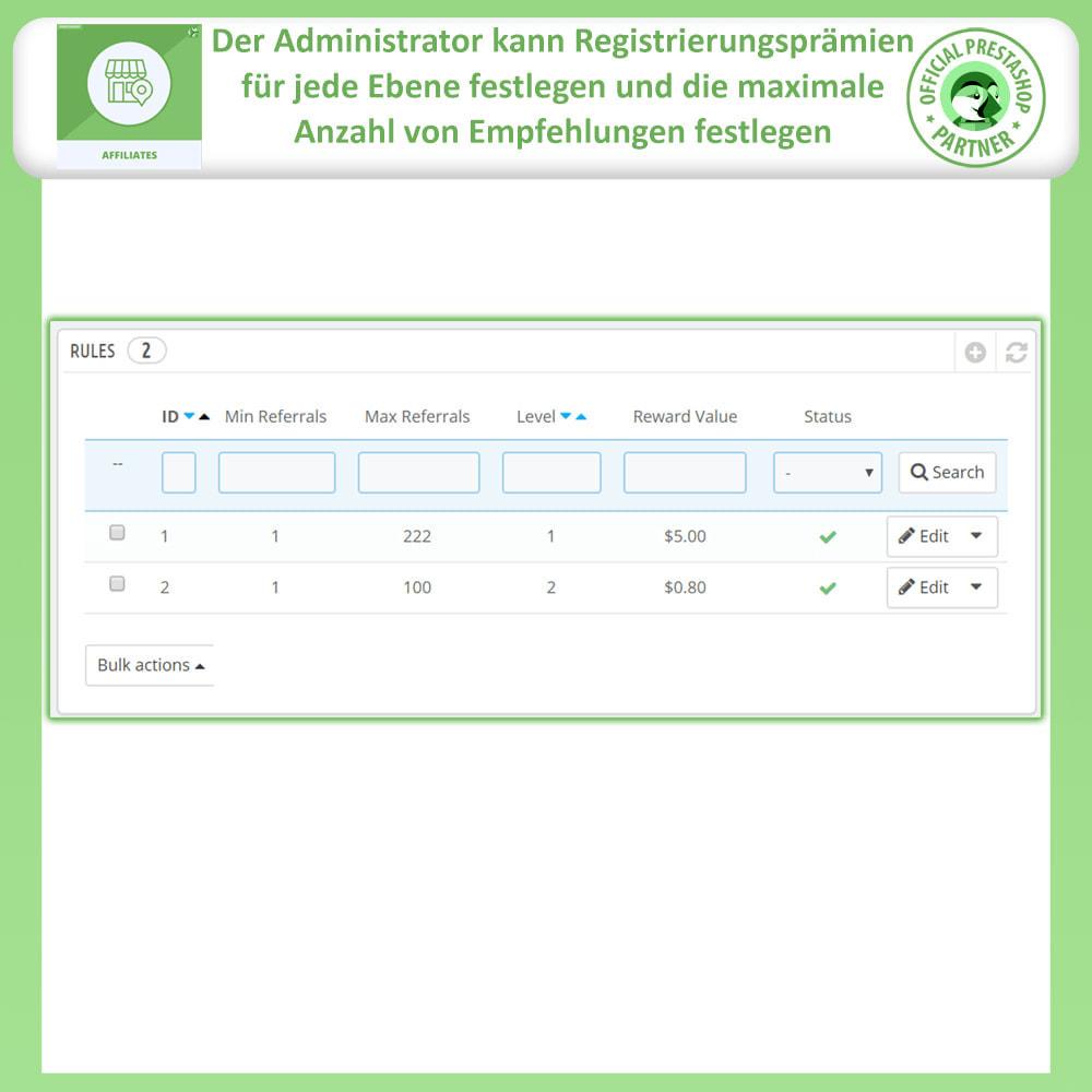 module - SEM SEA - Posicionamiento patrocinado & Afiliación - Programa de afiliados y referencias - 17