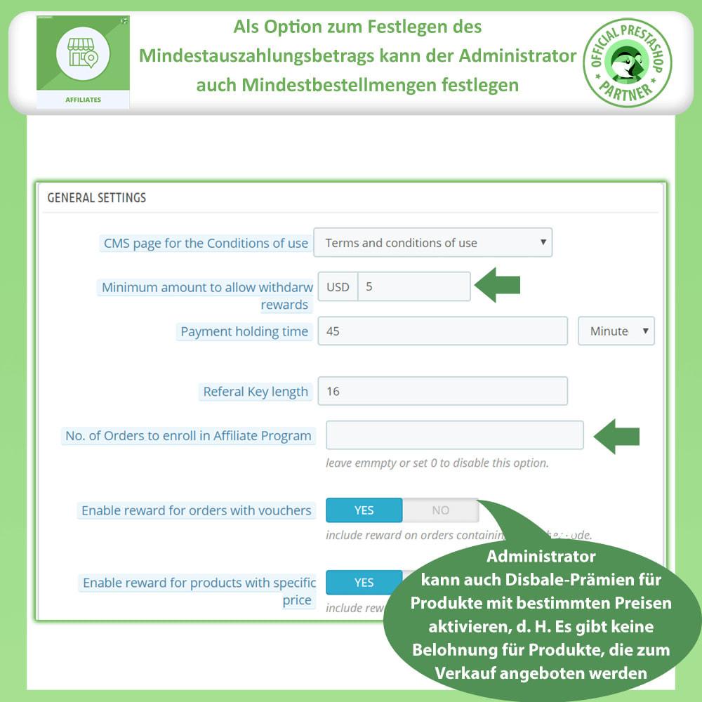 module - SEA SEM (Bezahlte Werbung) & Affiliate Plattformen - Affiliate & Empfehlungsprogramm - 10
