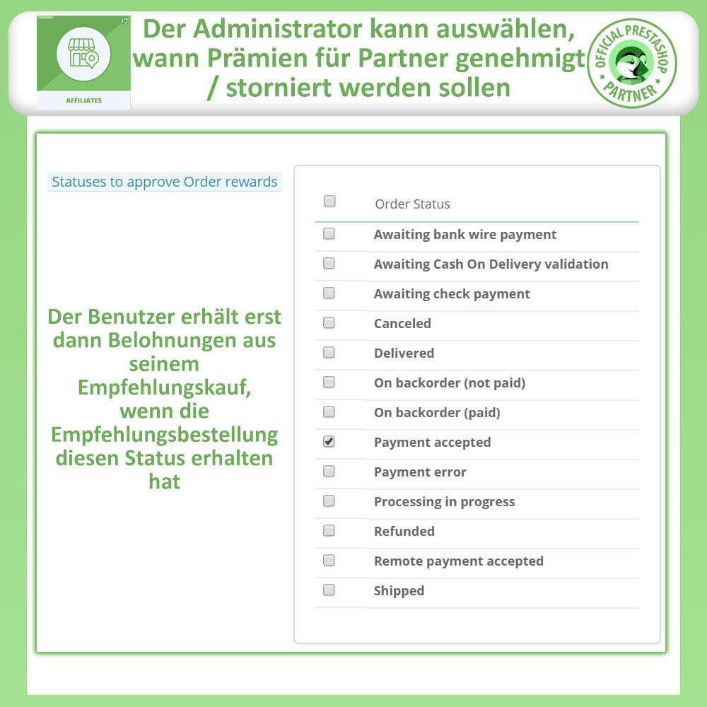 module - SEA SEM (Bezahlte Werbung) & Affiliate Plattformen - Affiliate & Empfehlungsprogramm - 14