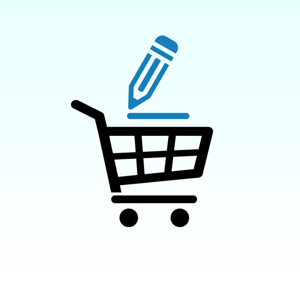 module - Szybkie & Masowe edytowanie - Szybka edycja produktu - 24