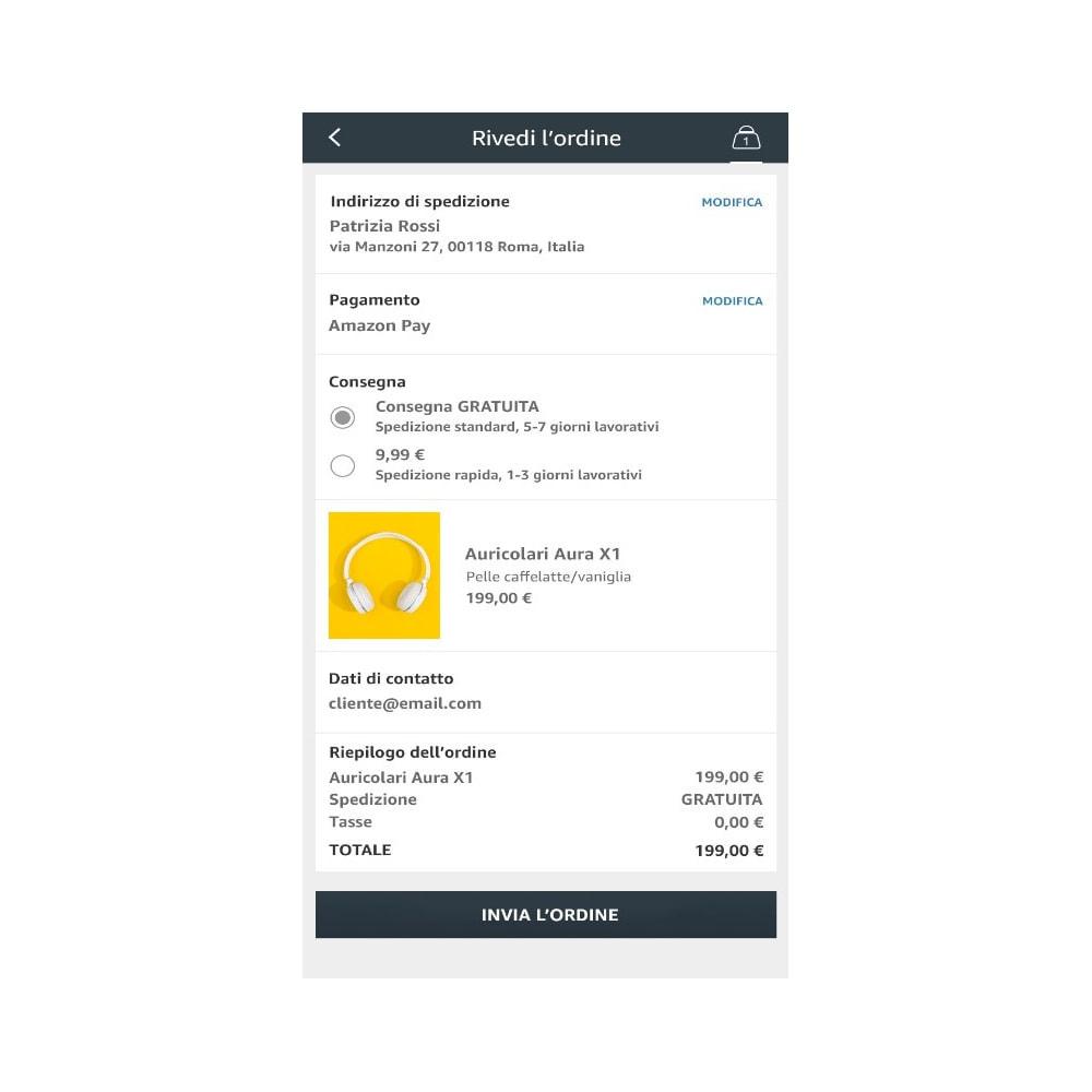 module - Pagamento con Carta di Credito o Wallet - Amazon Pay (Checkout v2) - 4