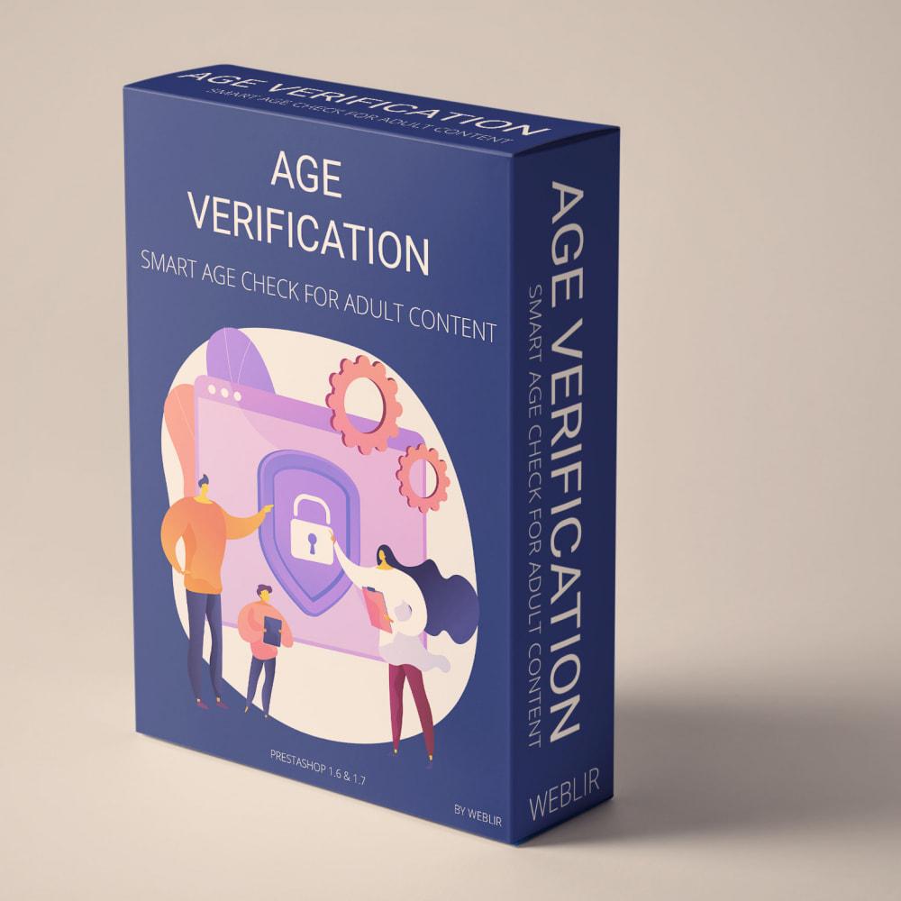 module - Seguridad y Accesos - Age verification - Smart age check for adult content - 1