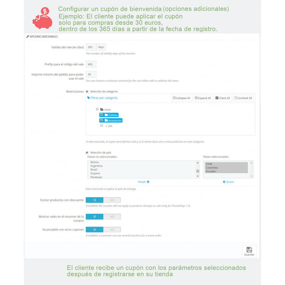 module - Descuentos en redes sociales - Cupones avanzados y puntos de fidelidad - 3