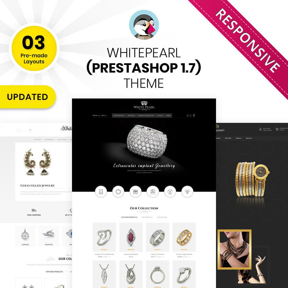 theme - Ювелирные изделия и Аксессуары - Whitepearl - The Jewellery Shop - 1
