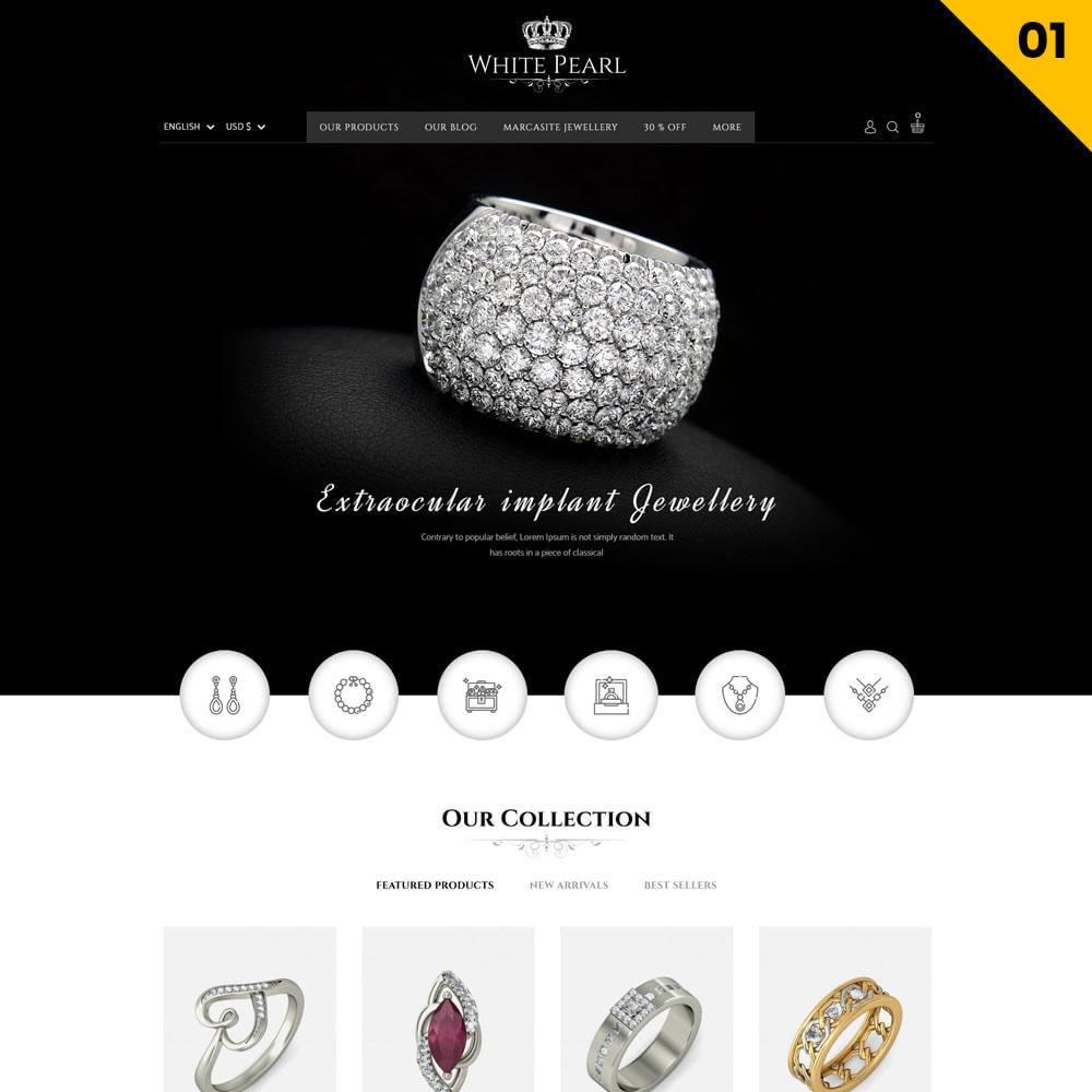 theme - Ювелирные изделия и Аксессуары - Whitepearl - The Jewellery Shop - 3