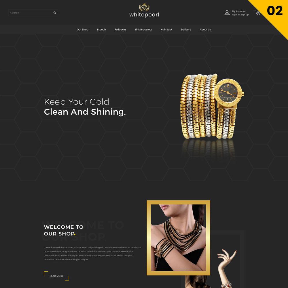 theme - Ювелирные изделия и Аксессуары - Whitepearl - The Jewellery Shop - 4