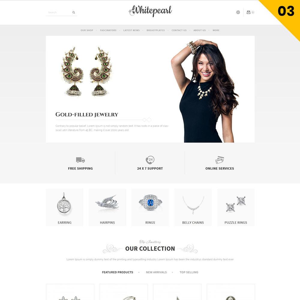 theme - Ювелирные изделия и Аксессуары - Whitepearl - The Jewellery Shop - 5