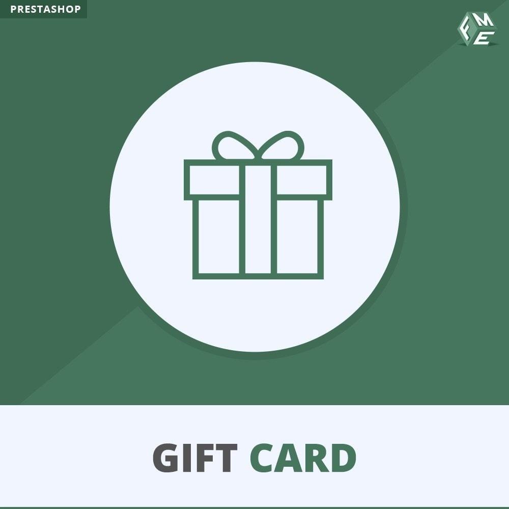 module - Whishlist & Gift Card - Gift Card - Gift Certificates & Vouchers - 1