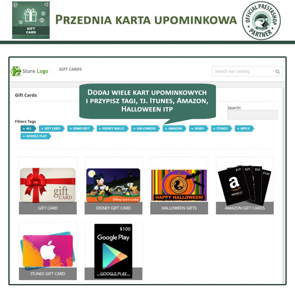 module - Lista życzeń & Karta podarunkowa - Karta Podarunkowa - 2