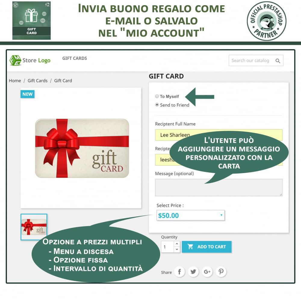 module - Whishlist & Gift Card - Gift Card - Gift Certificates & Vouchers - 3