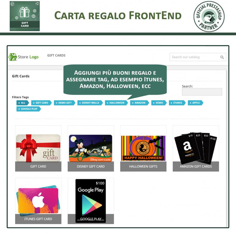 module - Whishlist & Gift Card - Gift Card - Gift Certificates & Vouchers - 2