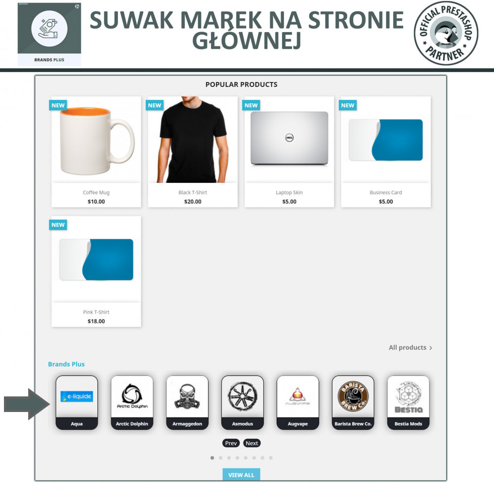 module - Marki & Producenci - Brands Plus - Responsive Brands & Manufacturer Carousel - 2