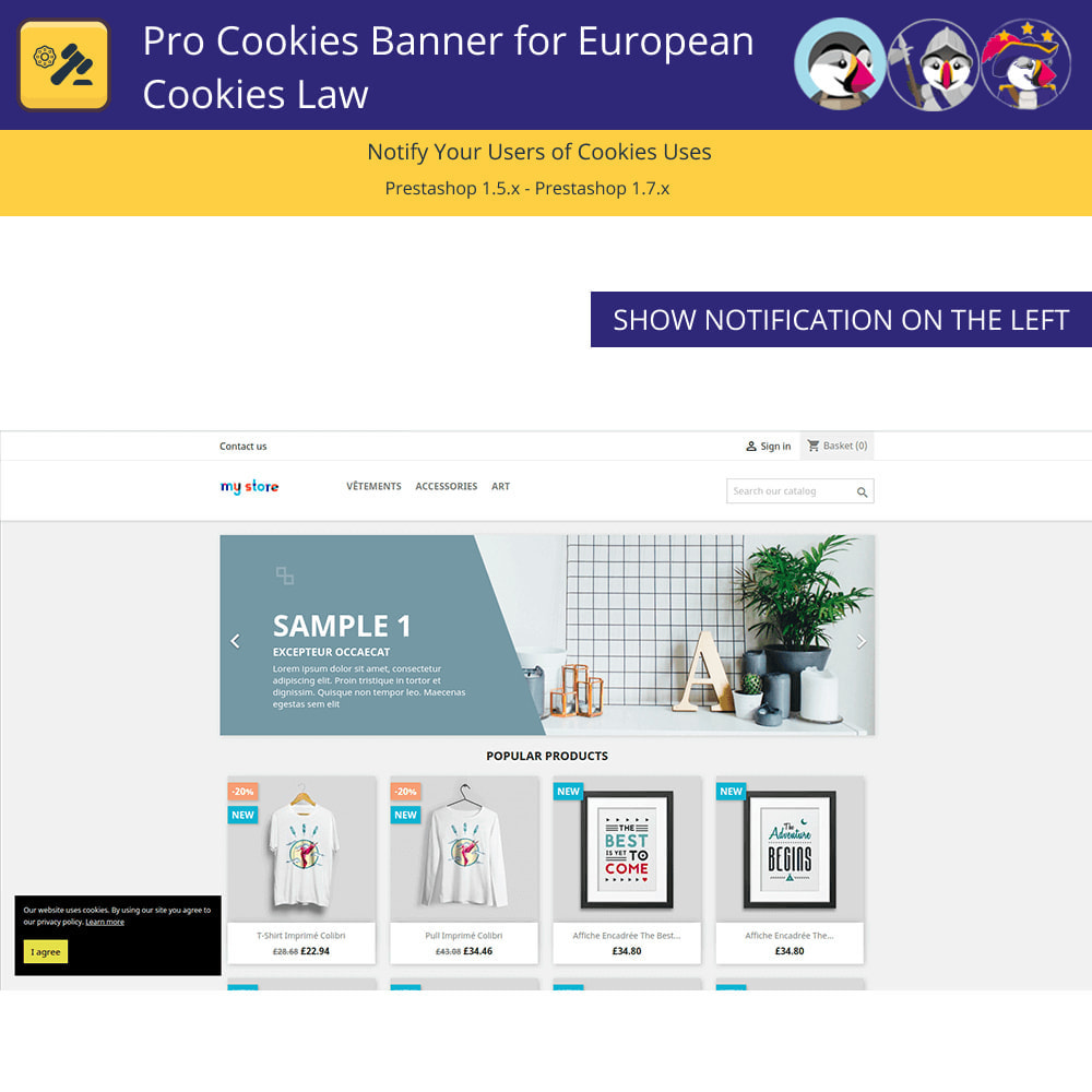module - Legal - Pro Cookie Banner For The European Cookie Law - 2