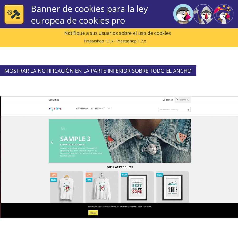 module - Marco Legal (Ley Europea) - Pro Cookie Banner Para La Ley Europea de Cookies - 4