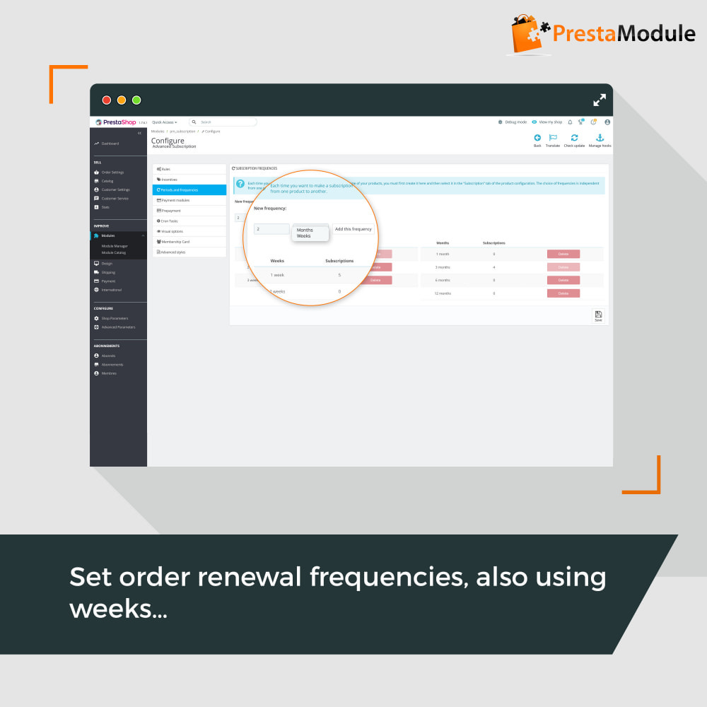 module - Abonnementen - Advanced Subscription with automatic recurring payments - 8