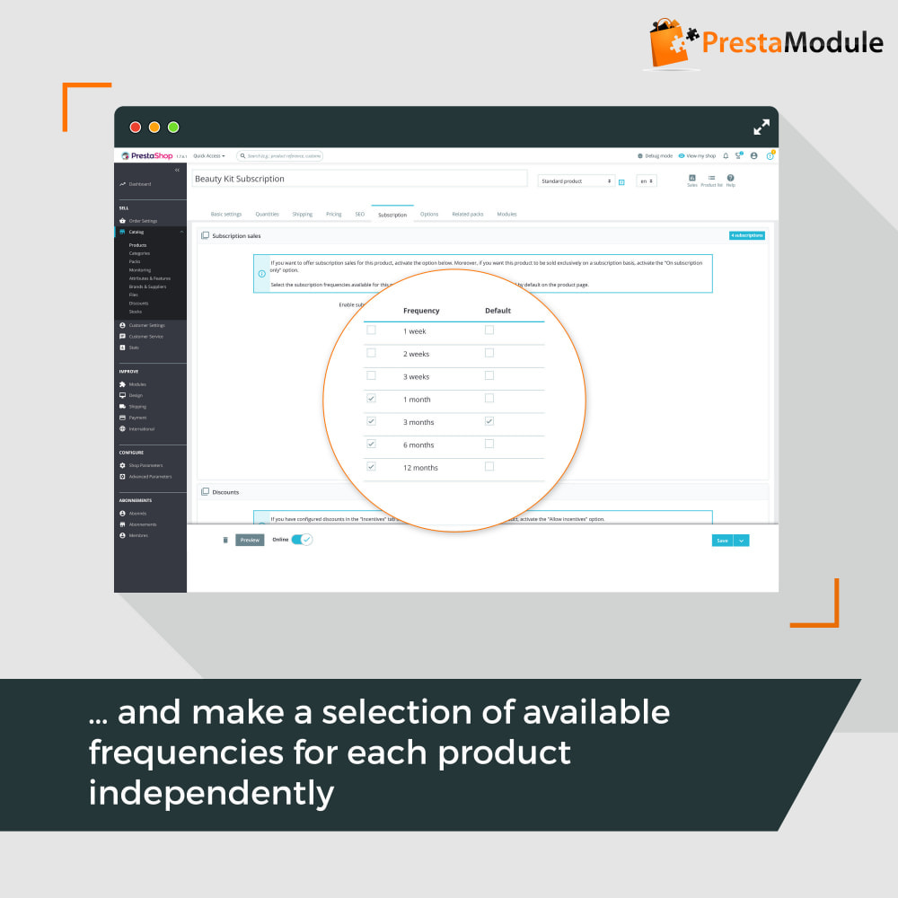 module - Abonnementen - Advanced Subscription with automatic recurring payments - 9