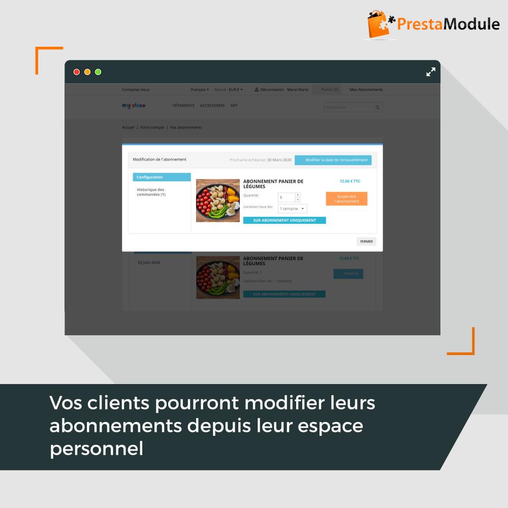 module - Abonnement (box) - Advanced Subscription: Abonnement & paiement récurrent - 6
