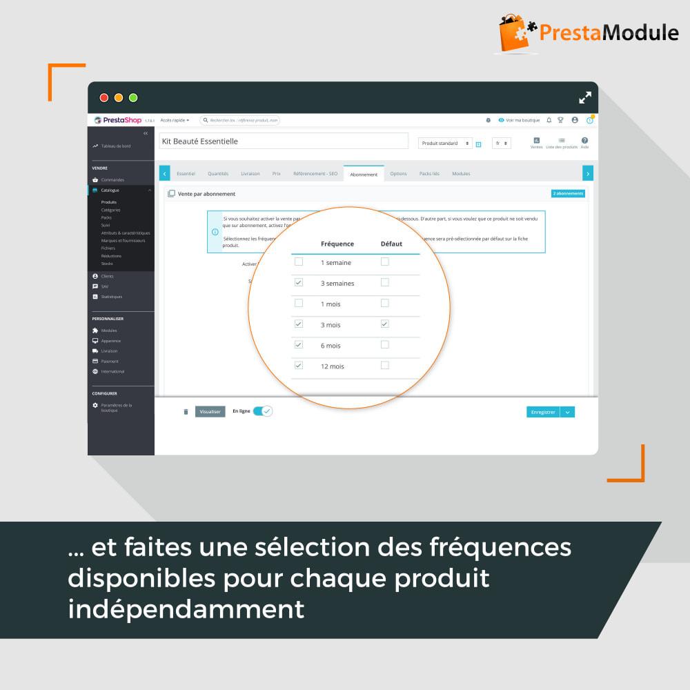 module - Abonnement (box) - Advanced Subscription: Abonnement & paiement récurrent - 9