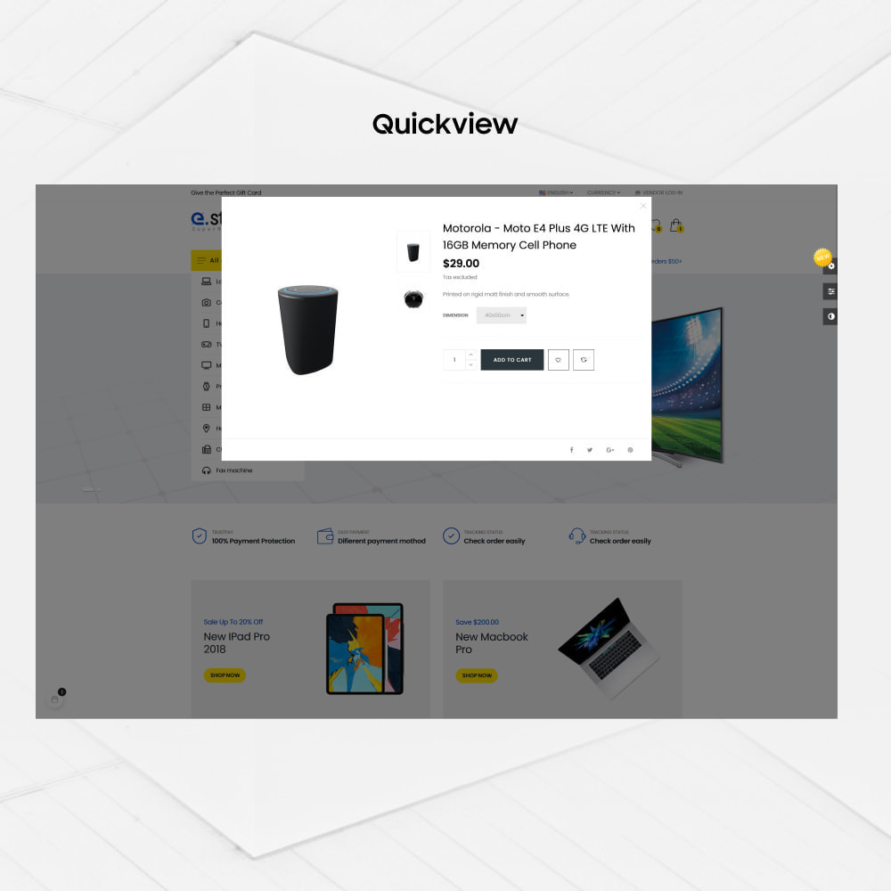 theme - Elektronika & High Tech - Gstore - Supermarket and Digital Store - 8