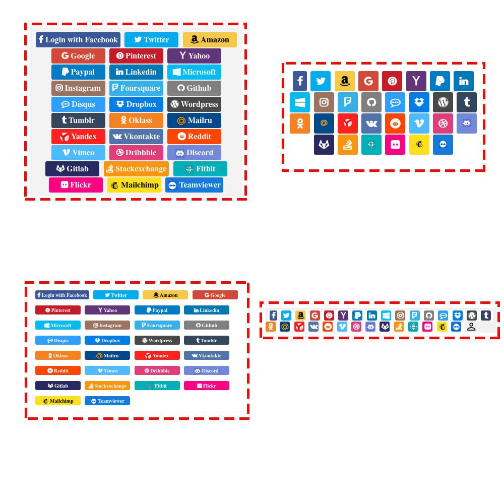 module - Купоны на скидку для социальных сетей - Multilogin + Coupons + MailChimp + Statistics (30 in 1) - 8