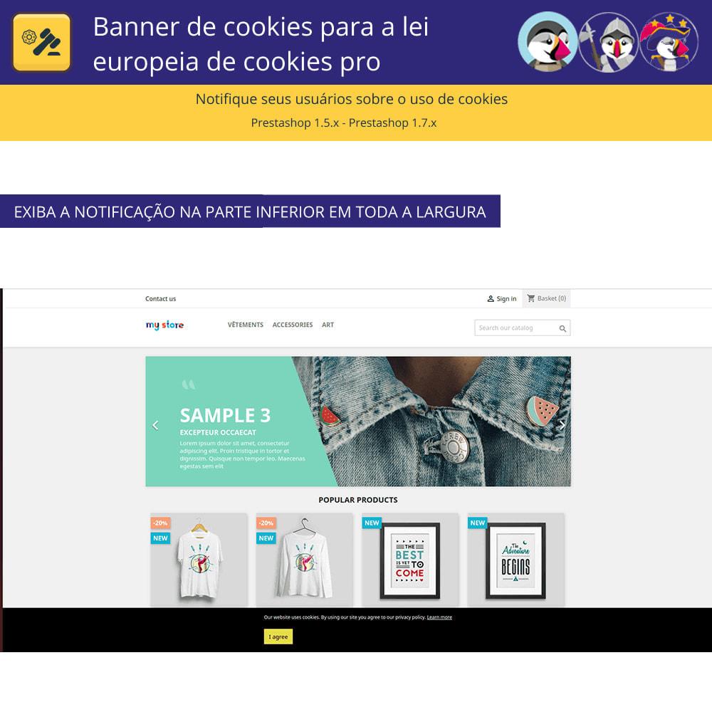 module - Jurídico - Cookies do Banner Pro para regras europeias de cookies - 4