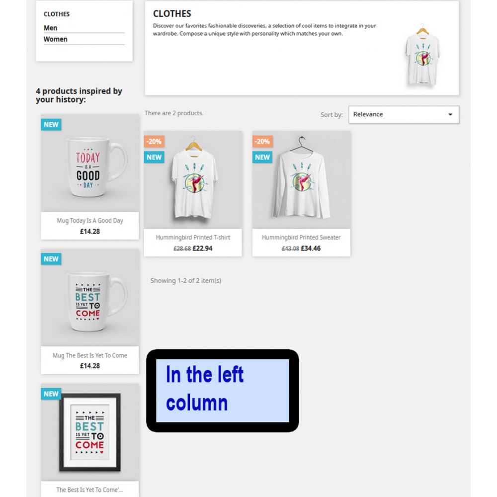 module - Поиск и фильтры - TopFinder - Products inspired by history - 4