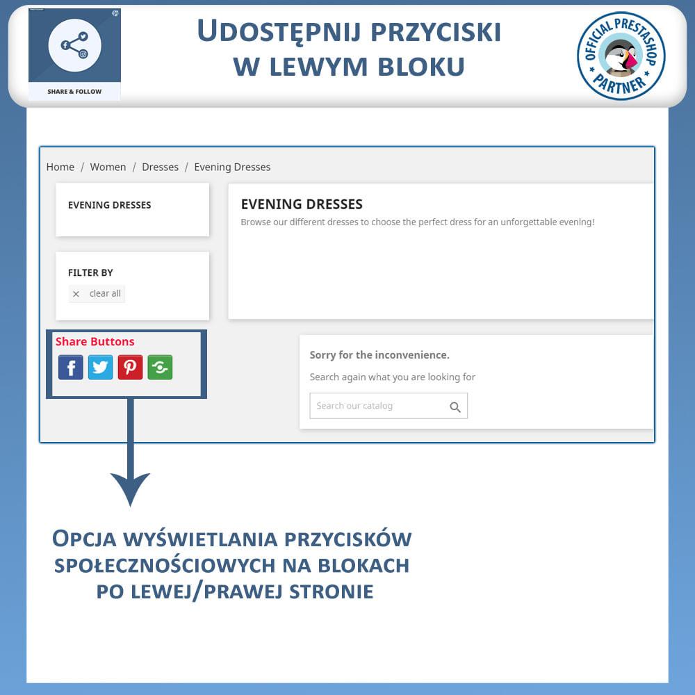 module - Przyciski udostępniania & Komentarze - Udostępnij i śledź - Widget Społecznościowy - 3