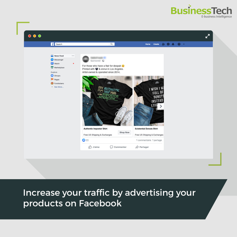 module - Products on Facebook & Social Networks - Facebook Dynamic Ads + Pixel & Shops - 1