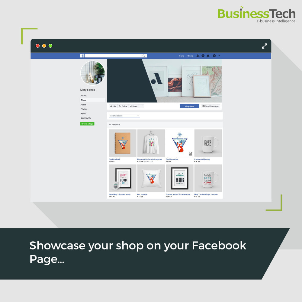 module - Products on Facebook & Social Networks - Facebook Dynamic Ads + Pixel & Shops - 3