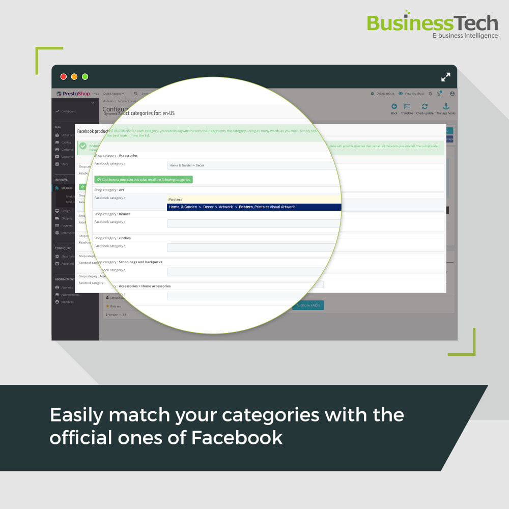 module - Products on Facebook & Social Networks - Facebook Dynamic Ads + Pixel & Shops - 7