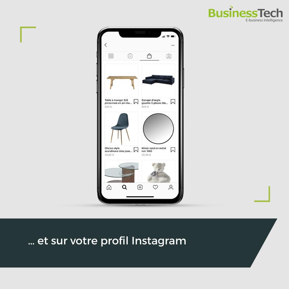 module - Produits sur Facebook & réseaux sociaux - Facebook Dynamic Ads + Pixel & Boutiques - 4