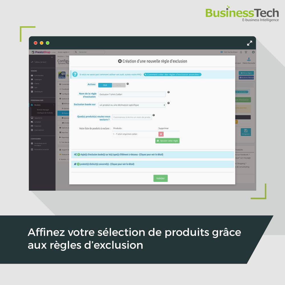 module - Produits sur Facebook & réseaux sociaux - Facebook Dynamic Ads + Pixel & Boutiques - 6