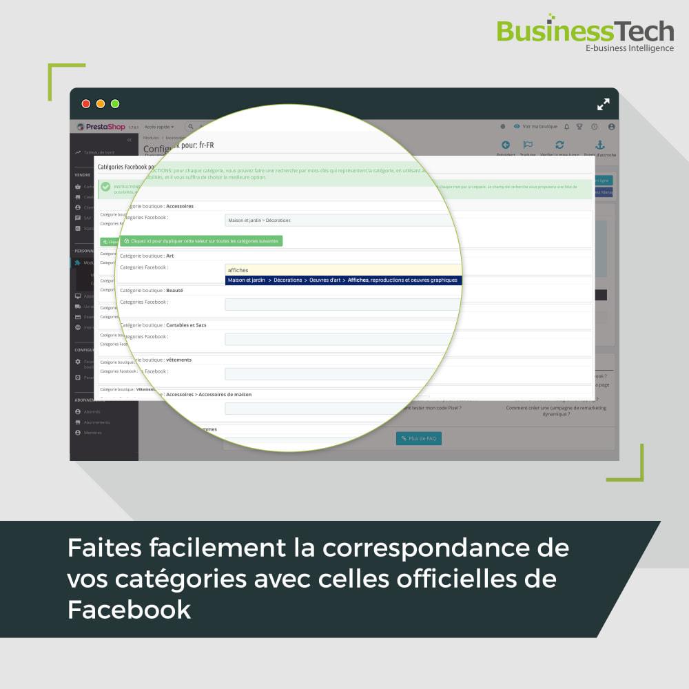 module - Produits sur Facebook & réseaux sociaux - Facebook Dynamic Ads + Pixel & Boutiques - 7