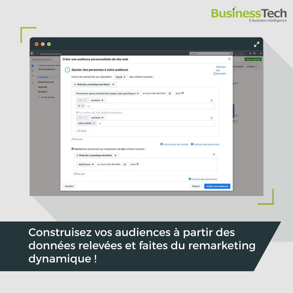 module - Produits sur Facebook & réseaux sociaux - Facebook Dynamic Ads + Pixel & Boutiques - 10