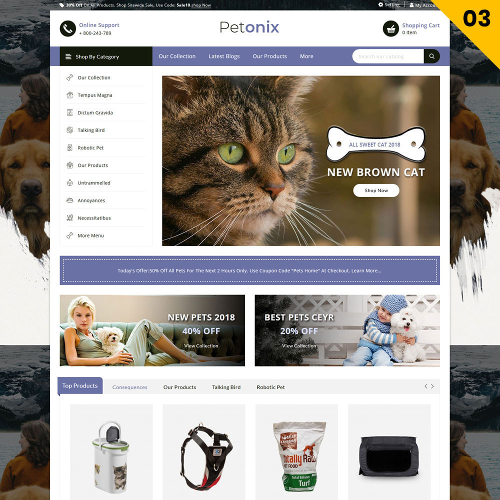 theme - Tier - Petonix Animal Shop - 5