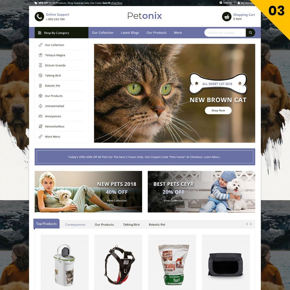 theme - Animali - Petonix negozio di animali - 5