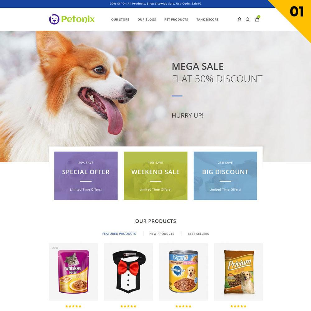 theme - Animales y Mascotas - Petonix tienda de animales - 3