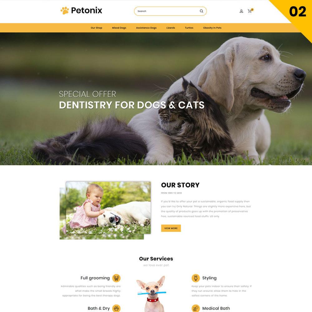 theme - Animales y Mascotas - Petonix tienda de animales - 4