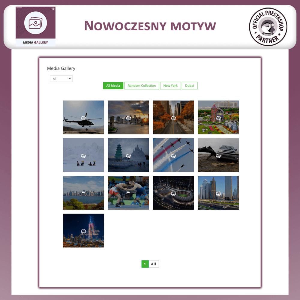 module - Wirtualne produkty - moduł galerii mediów - 2