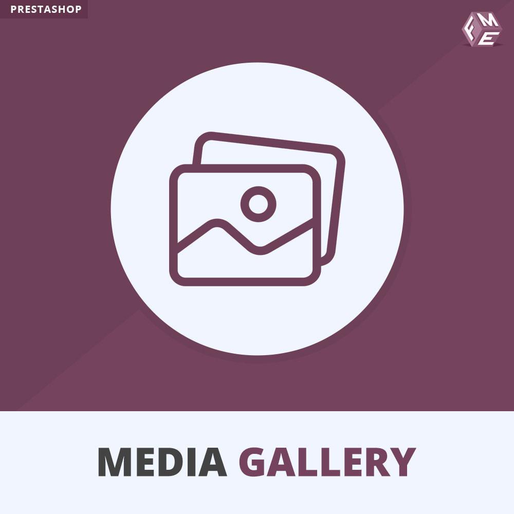 module - Wirtualne produkty - moduł galerii mediów - 1