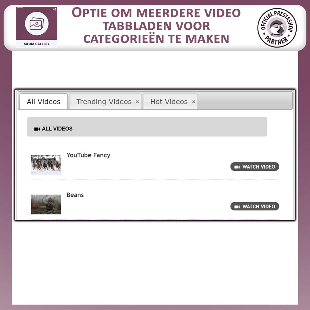 module - Virtuele producten - Media Galerij - Video Galerij - 5