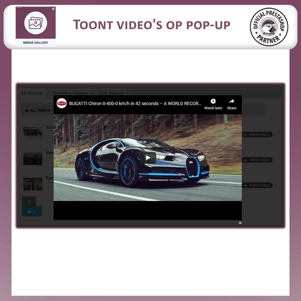 module - Virtuele producten - Media Galerij - Video Galerij - 4